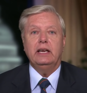 This super awkward clip of Lindsey Graham doing something with his finger cannot be unseen