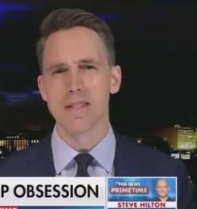 WATCH: Fox News' Maria Bartiromo wails to Josh Hawley about losing Twitter followers