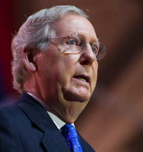"""Senate Minority Leader"" Mitch McConnell is having a very crappy day on Twitter"