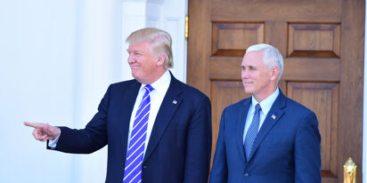 After having an angry mob sicced on him, Mike Pence says he's skipping Trump's goodbye party