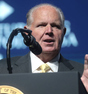 Homophobic radio host Rush Limbaugh, dead at 70