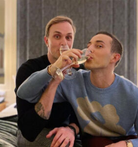Adam Rippon explains getting engaged to Jussi-Pekka Kajaala during the pandemic