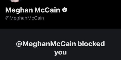 Meghan McCain, who hates cancel culture, is blocking her critics left and right on Twitter