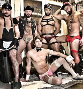 PHOTOS: Fubar had the hottest go-go dancers in LA. Let's keep it that way.