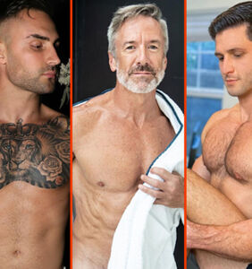 Tom Daley's throwback, Luke Evans' thigh tat, & Matt Lister's built-in blanket