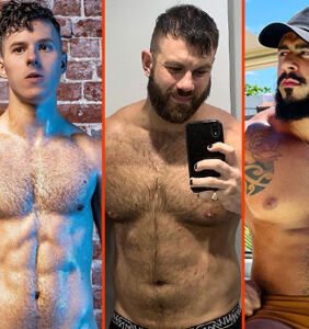 Tom Daley's training break, Steve Grand's short shorts, & Nolan Gould's new look
