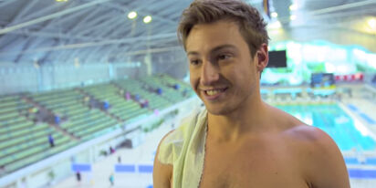 Matthew Mitcham opens up about trying to suppress his sexuality