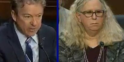 Rand Paul goes on unhinged transphobic rant at Dr. Rachel Levine's confirmation hearing