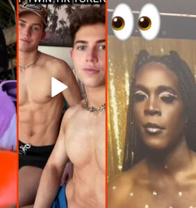 WATCH: These Queerties-nominated TikTokers are bringing their A-game