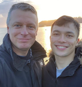Politician attacked for sharing photo of his boyfriend on Valentine's Day gets the last laugh