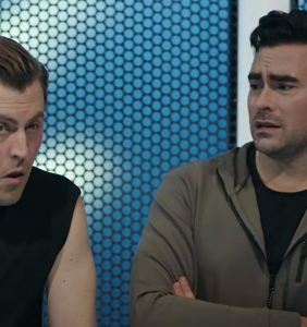 WATCH: This unaired Dan Levy SNL sketch about 'Man Stain' is a true gem