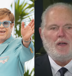 Elton John is being dragged on Twitter for his friendship with Rush Limbaugh