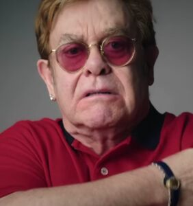 Elton John stars in humorous Covid vaccine advert