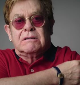 Elton John stars in humorous Covid vaccine advert