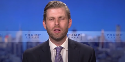 Eric Trump knows why Texas froze and he isn't afraid to look like an idiot explaining it