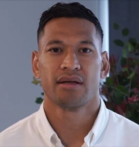 """Homophobic rugby star Israel Folau """"bombarded"""" with gay adult content on new team"""