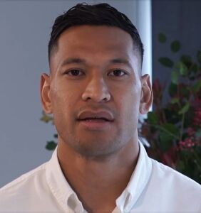 "Homophobic rugby star Israel Folau ""bombarded"" with gay adult content on new team"