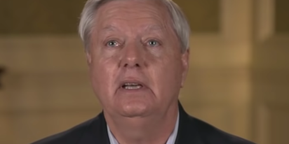 "Like a good sub, Lindsey Graham praises Donald Trump for being the ""most dominant"""