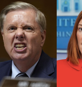 "Nobody is angrier about Jen Psaki's ""homophobic"" jab at Lindsey Graham than homophobic Republicans"