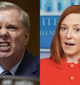 "Nobody is angrier about Jen Psaki's ""homophobic"" jab at Lindsey Graham than homophobic Republicans"