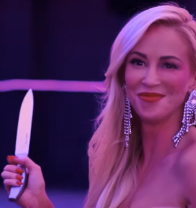 Steven Mnuchin's wife's problematic new film is about a greedy bisexual sociopath who murders people