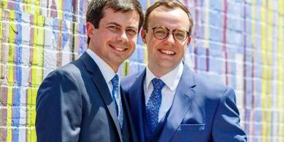 Pete and Chasten Buttigieg share sweet wedding anniversary messages