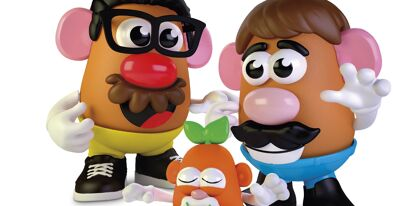 Potato Head–formerly Mr. Potato Head–is now officially gender-neutral