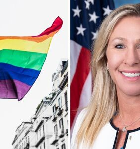 Marjorie Taylor Greene co-sponsors bill to stop US embassies flying Pride flags