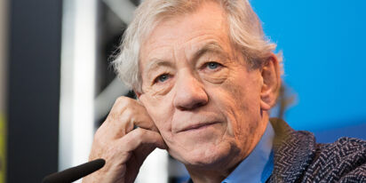 Sir Ian McKellen has a wish for the gay community: stand with transpeople