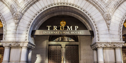Trump's namesake D.C. hotel has become a sad and lifeless ghost town