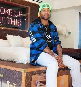 Todrick Hall's new, custom-made Louis Vuitton bed is something else