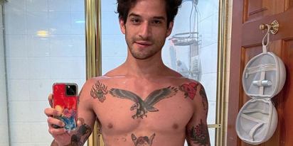 Tyler Posey loves being nude and his OnlyFans proves it