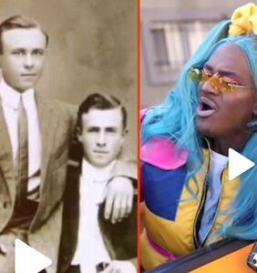 """Vintage gay couples & the new """"boys cake check challenge"""""""
