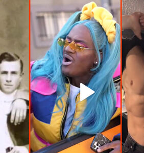 "Vintage gay couples & the new ""boys cake check challenge"""