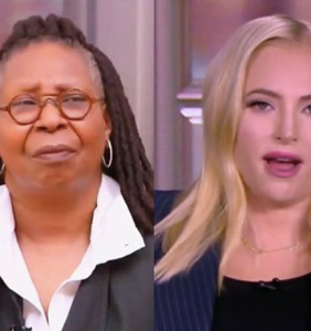 Whoopi Goldberg can't even with Meghan McCain anymore