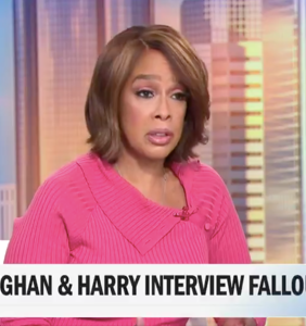 Gayle King just spilled major tea on the royals and OMG you guys