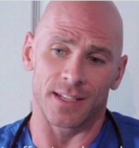 Anti-vax author just shared medical advice from adult film actor dressed up as doctor. Sounds legit!