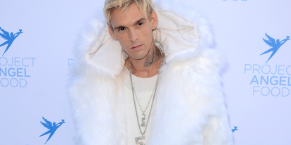 PHOTO: Aaron Carter's ultra revealing thirst trap does not seem to be trapping thirst