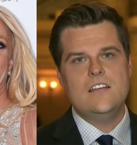 Matt Gaetz's very public obsession with Britney Spears is getting legit creepy