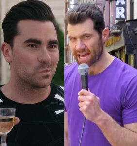 So Billy Eichner just proposed to Dan Levy…to piss off the Pope