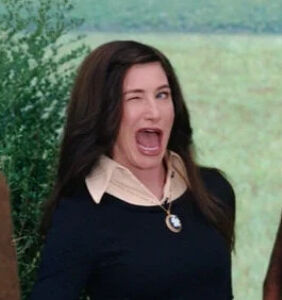 Aspiring gay icon Kathryn Hahn just took a TV jingle to #1 on the charts. Cue the drag queens.
