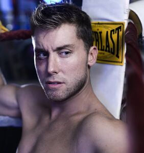 Lance Bass is about to show off something really, really big