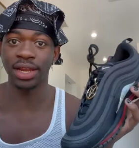 """Nike wants you to know they did NOT put human blood in Lil Nas X's """"Satan Shoes"""""""