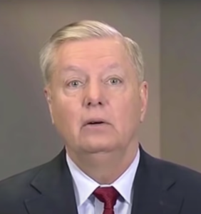 Everyone's laughing at Lindsey Graham for saying he keeps an AR-15 in his closet to shoot gangs