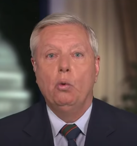 Lindsey Graham takes his adoration for Donald Trump to a creepy new level in weird interview