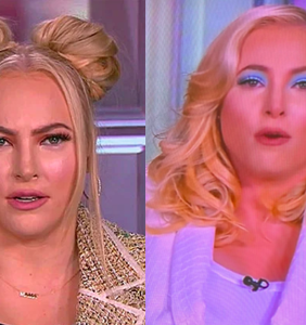 Everyone's convinced Meghan McCain's hair and makeup stylist secretly hates her