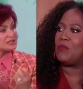 Things got really awkward when Sharon Osbourne cried on TV about Piers Morgan's unfair treatment