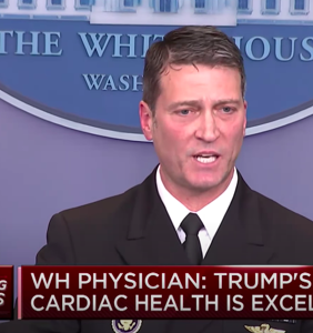 Damning report paints ex-WH physician Ronny Jackson out to be a horny, drunk, pill-popping party boy