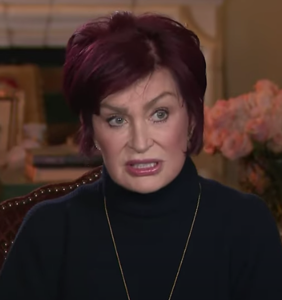 "Now Sharon Osbourne is claiming she's the victim of ""the biggest setup ever"""