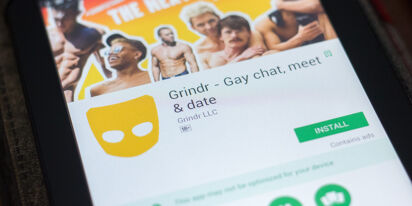 Are you ready for a Grindr TV show? Because it just parked and is walking up.